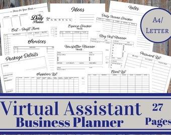 Virtual Assistant Business Planner Bundle