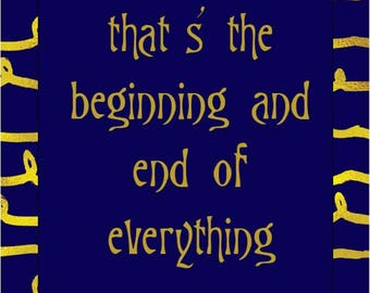 F Scott Fitzgerald Quote *INSTANT DOWNLOAD*