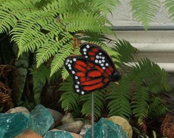 Mosaic Monarch Butterfly' Garden Art