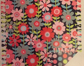 Daisies and Polka Dot Weighted Blanket