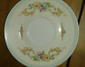 Antique Noritake China Saucer 1908