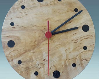 Wood wall clock, wooden clock, wood clock, unique wall clocks, wall clock wood, housewarming gift, greatwooden gift, modern clock, clocks