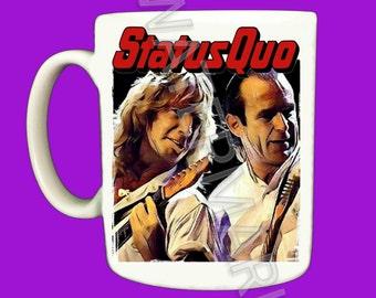 Status Quo Mug . Mugs . Rick Parfitt
