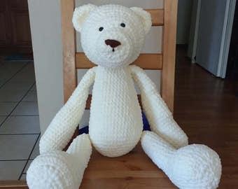 Crochet Teddy Bear - Amigurumi