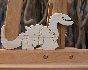 Puzzle dinosaurs Kids 3D