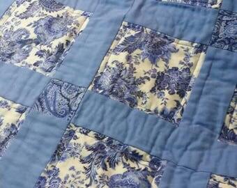 Blue Print Quilt
