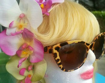 Tropical Orchid Hair Clip - 4 colors!