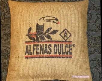 "Coffee bag reference ""Alfenas Dulce, 40 x 40 cm"