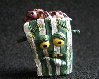 Figure Frankenstein Polymer clay / Pachonita Frankenstein/ Figure Frankenstein Film/Polymer clay handmade