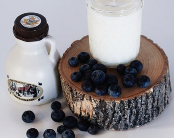 8oz blueberry pancakes soy candle