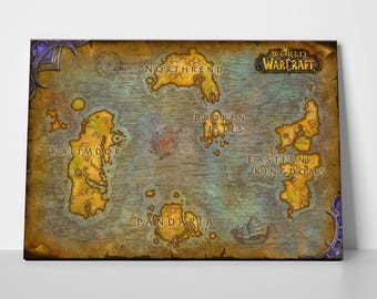 World Of Warcraft: Map of Azeroth
