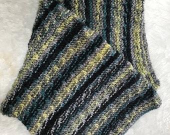 Angled Stripe Baby Blanket