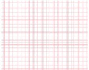 Sweet Plaid Pink Baby Blanket, Minky Baby Blanket, Soft girl blanket, Toddler blanket