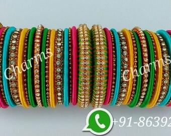 Multicolor Bangles Set