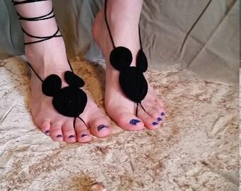 micky barefoot sandal