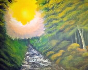 Original Landscape Oil Painting #5 by Laszlo Musho