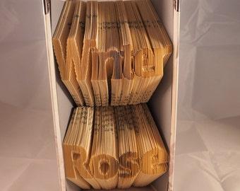 Bespoke Multi Line Book Fold