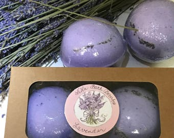 XL Lavender bath bombs, Free Gift Wrap for a limited time only!  Free Shipping Inside The U.S. & U.S. Territories  Guaranteed By Christmas!