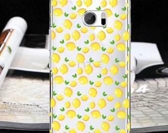 Lemons case HTC U11 Bolt  HTC 10 evo One E9 + One E9 One X9 One ME fruits case One A9 One M10 htc 10 htc 10 Lifestyle One M9 One S9  One M8s