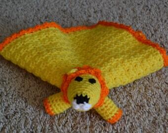 Lion Lovey Blanket