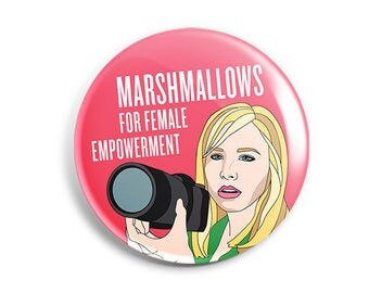 Feminist Veronica Mars Button