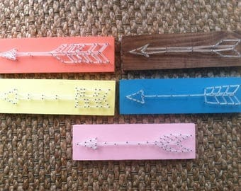 Made-to-order String Art Farmhouse Arrows