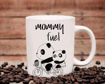 Coffee Mug - Porcelain Coffee Mug - Tea Cup - Animal Mug - Panda Coffee Mug - Panda Mug - Childhood Memory - Gift for Him - Gift for Her