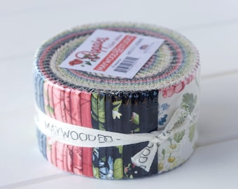 Poppies Jelly Roll by Maywood Studio