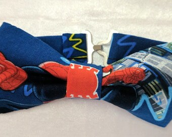 Spiderman Child's Adjustable bow tie