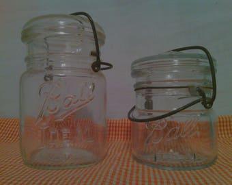 Ball Ideal Pint & Half Pint Canning Jars