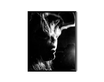 Smoke. Photo print or pack of 5 postcards