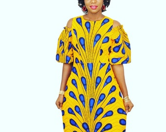 Electric Bulb African Ankara Cold Should Dress