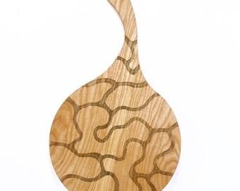 Ash Wood Serving Platter