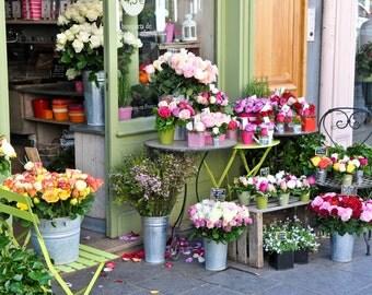 Paris Photography-Parisian Florist
