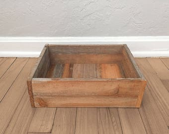 Reclaimed Wood Box - Reclaimed Florida Cypress