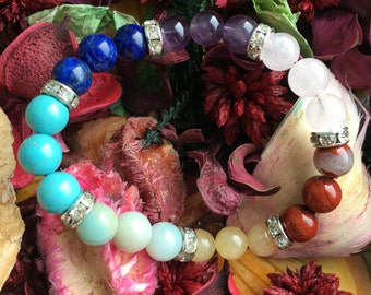 Chakra Cleansing and Empowerment bracelet