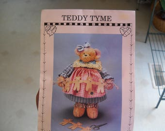 Teddy Time - Teddy Bear Pattern