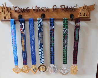 Custom Wood Medal Rack