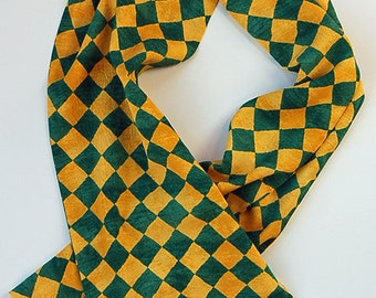 The Jockey Mens Rayon Challis Scarf handmade
