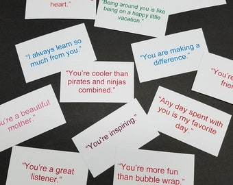 Deck of 20 Compliment Cards