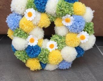Spring Time/Easter Pom Pom Decoration