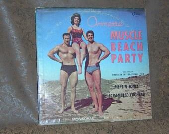 ANNETTE/ Muscle Beach Party/ Annette Funicello/ 1963 Buena Vista Records/  Surf Beach Music