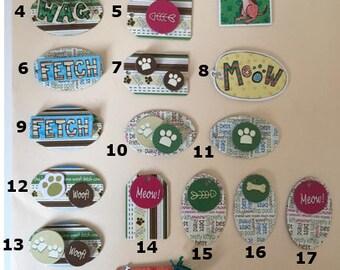 Handmade Pet Gift Tags