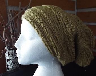 Mustard Lotsa Knitted Hat