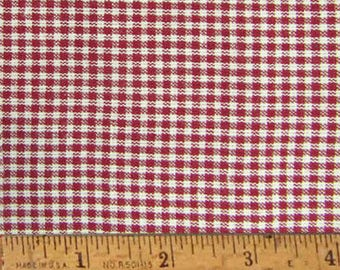 """Red Delicious 2 Homespun Cotton Fabric (Full Yard 36"""" x 44"""")"""