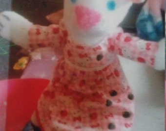 Pretty kitty doll