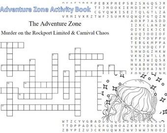 The Adventure Zone Activity Book
