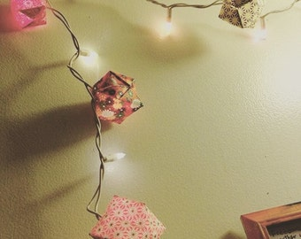 Origami Lantern String Lights
