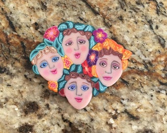 Beautiful brooch from 70's or 80's