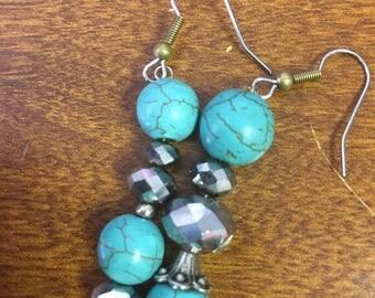 Aquaglass water stone beads
